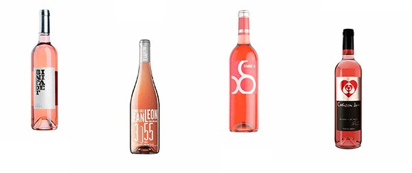 Rosé wine and fortified wines of Vinos Online