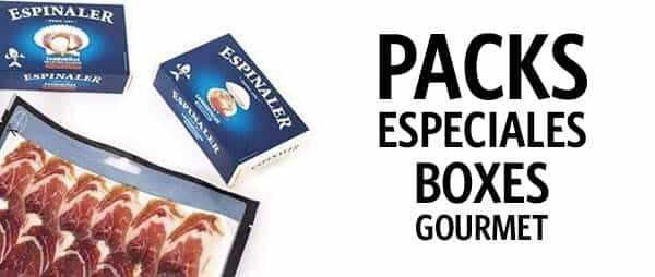 Packs Especiales - Boxes Gourmet