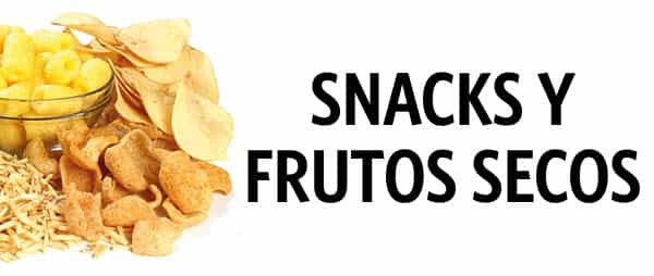 Snacks y Frutos Secos