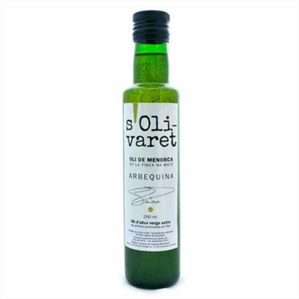 Extra Virgin Olive Oil S'Olivaret 250ml.