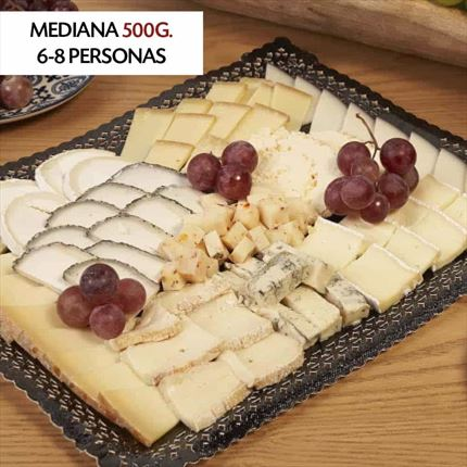 MIXED CHEESE TRAY | tray Gourmet