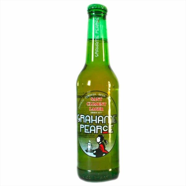 Cerveza Grahame Pearce Lager 33cl