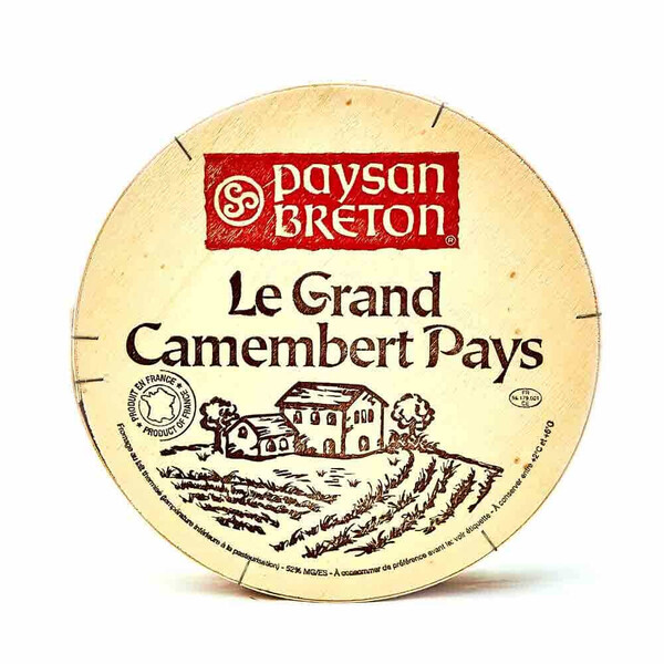 QUESO LE GRAND CAMEMBERT PAYS 900g. (FRANCIA)