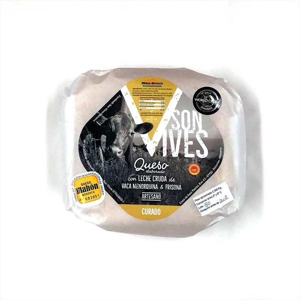 Cheese cured Mahon - Menorca Son Vives