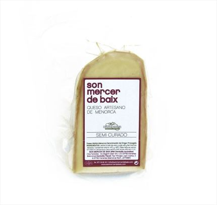 Son Mercer Cheese Mahon - Menorca Products - Shop Online Gourmet