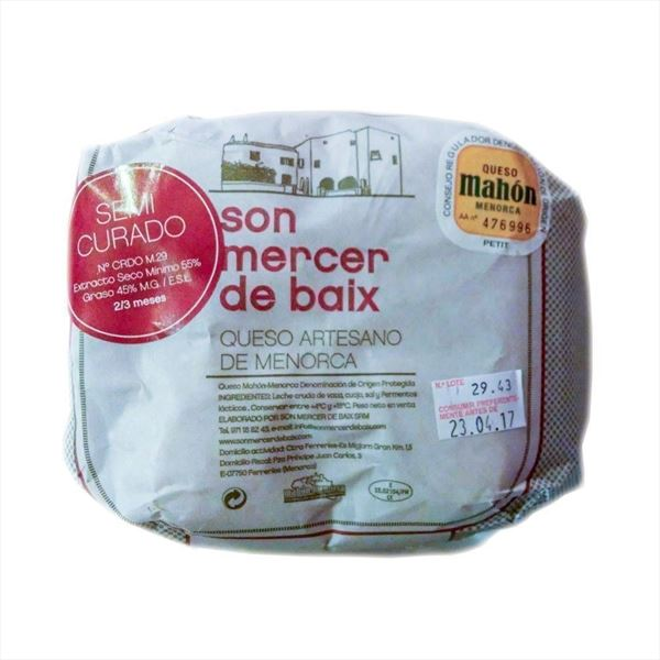 QUESO SON MERCER MINI 700g. SEMI
