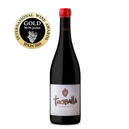 VINO TINTO ECOLÓGICO TROBALLA | ORO EN EL INTERNATIONAL WINE AWARDS 2020