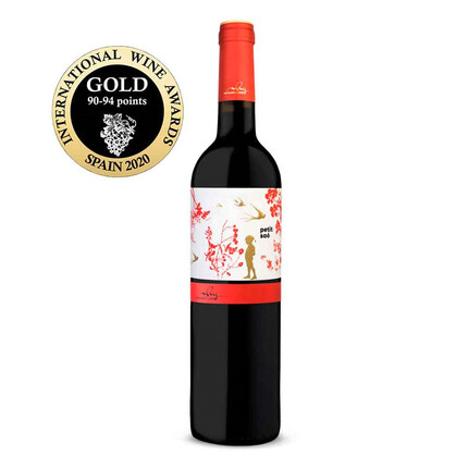 VINO TINTO SAÓ MAS BLANCH I JOVÉ | MEDALLA DE ORO INTERNATIONAL WINE AWARDS 2020